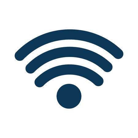 Illustration pour A wifi signal icon image vector illustration design - image libre de droit
