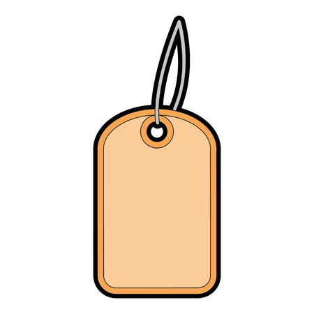 Christmas shopping tag isolated icon vector illustration design