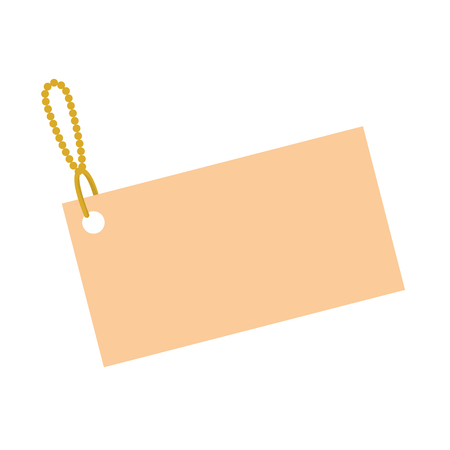 Shopping tag isolated icon vector illustration design