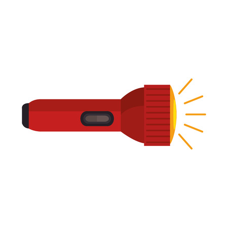 Ilustración de Flash light isolated icon vector illustration design. - Imagen libre de derechos