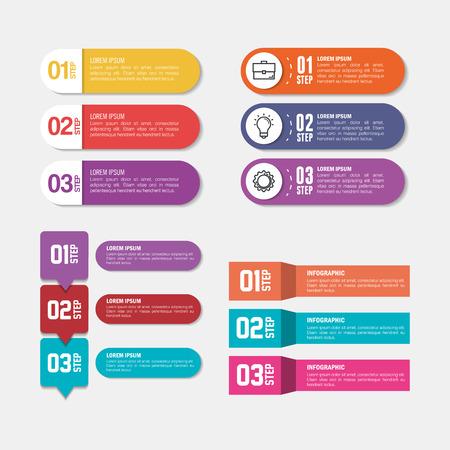 Illustration pour business infographic template icons vector illustration design - image libre de droit
