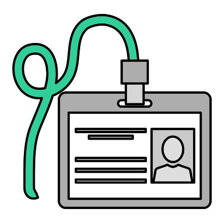 Illustration pour safety id document icon vector illustration design - image libre de droit
