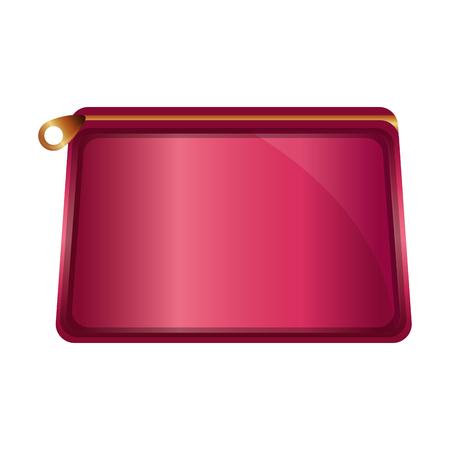 Illustration pour cosmetic makeup purse accessory female vector illustration - image libre de droit
