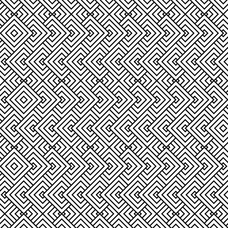 Illustration for black and white texture pattern background vector illustration design - Royalty Free Image