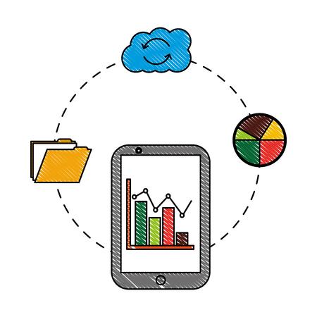 smartphone statistics report cloud storage folder
