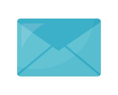 Illustration pour envelope mail isolated icon vector illustration design - image libre de droit