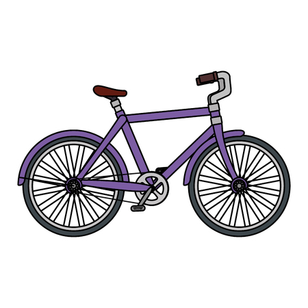 Illustration pour racing bicycle isolated icon vector illustration design - image libre de droit
