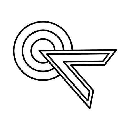 arrow mouse pointer icon vector illustration design