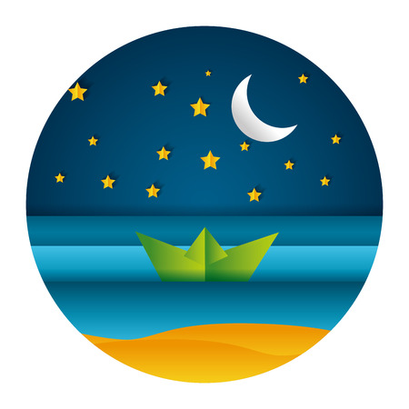 Origami Moon and Star - YouTube | Papel origami, Origami | 450x450