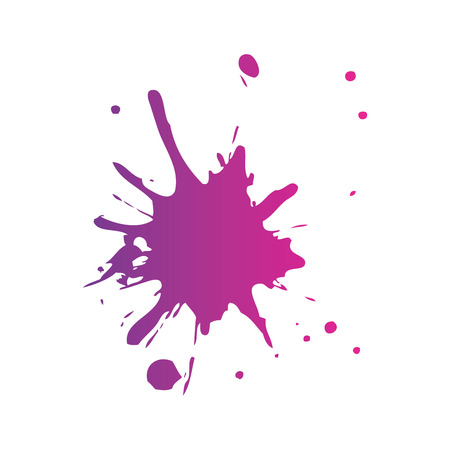 Illustration for splash paint isolated icon vector illustration design - Royalty Free Image