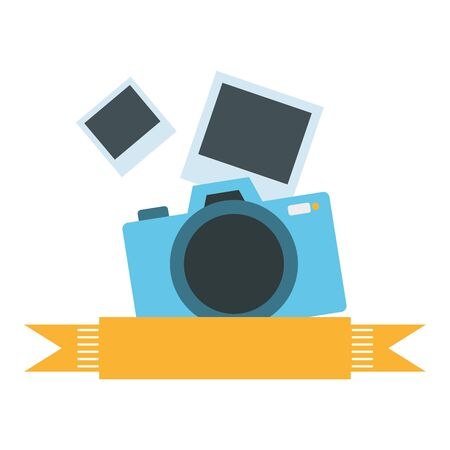 Illustration pour photographic camera isolated icon vector illustration design - image libre de droit