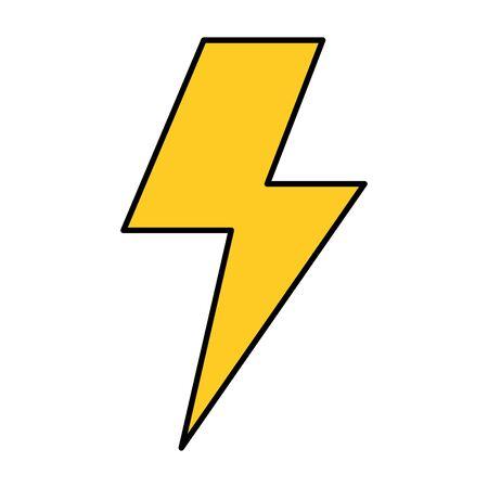 Illustration pour ray power isolated icon vector illustration design - image libre de droit