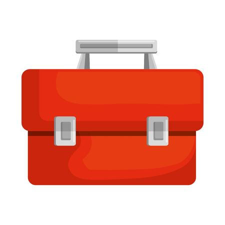 Illustration for tools box handle icon vector illustration design - Royalty Free Image