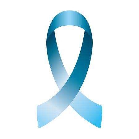 Illustration pour celebration card with ribbon blue vector illustration design - image libre de droit