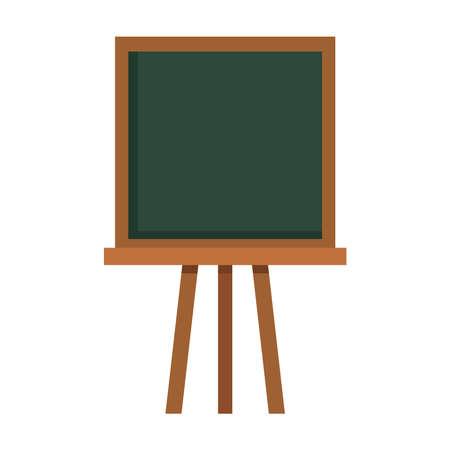 Illustration pour School green board design, Education class lesson and knowledge theme Vector illustration - image libre de droit