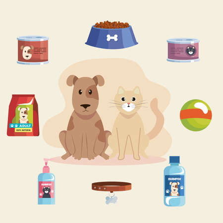 Illustration for mascots and products - Royalty Free Image