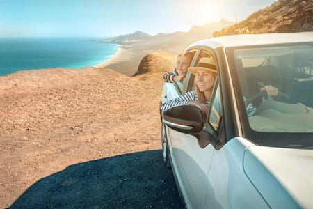 Foto de Sunlight on sunny day. Travel, Family, Journey concept. - Imagen libre de derechos