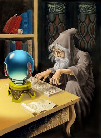 Medieval Sorcerer and Modern Technology
