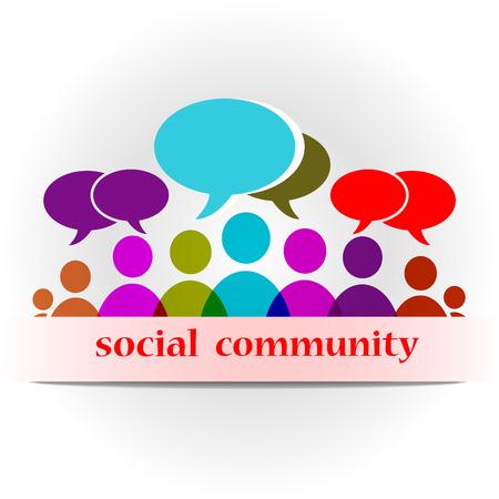 Vector social community forum