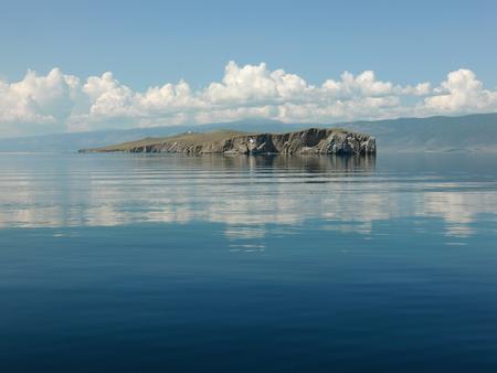 Lake Baikal, Ogoy Island. Irkutsk region, Russia.