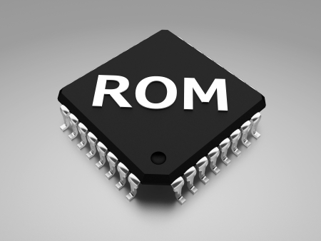 ROM  Read-only memory  chip