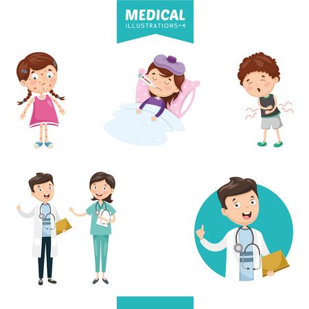 Illustration pour Vector Illustration Of Medical - image libre de droit