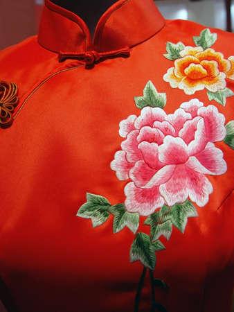 Photo pour Chinese garments                                - image libre de droit