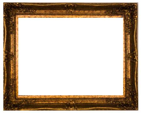 Photo pour Old-fashioned baquet on a white background. - image libre de droit