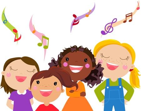 Kids Singing -