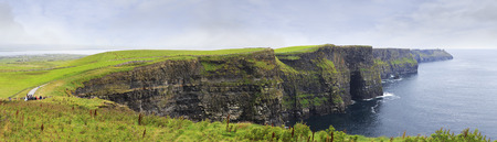 Cliffs of Moher the most famous landmark in Ireland.