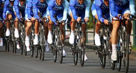 Chrono bike race
