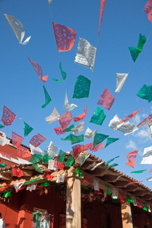 Mexican decoration for tradional celebration