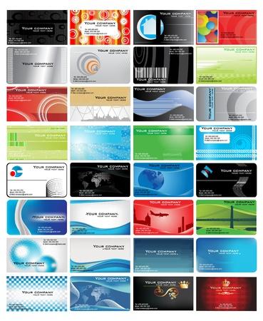 Foto de vector business card - Imagen libre de derechos