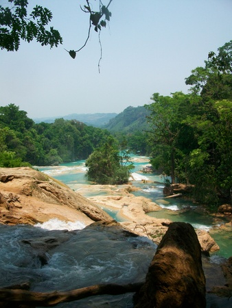Picture taken at Agua Azul, Chiapas, Mexico