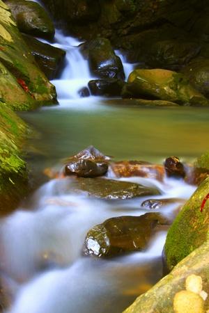 Kionsom Waterfall, Inanam, Kota Kinabalu, Sabah, Malaysia