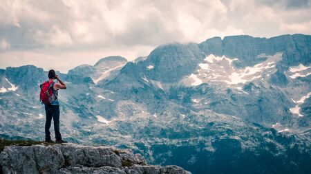 Photo for The beautiful alps of the Friuli Venezia-Giulia, perfect for trekking and climbing - Royalty Free Image