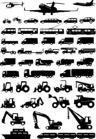 All types of transport
