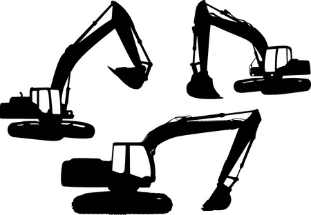Illustration for Crane  - Royalty Free Image