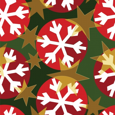 Design for Christmas wrapping paper