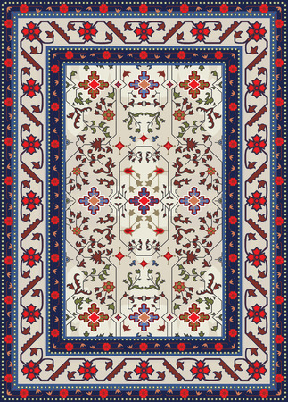 Abstract Carpet Design