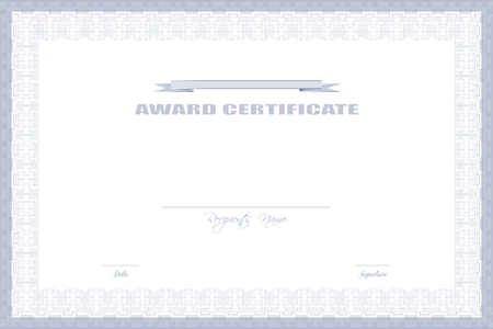award certificate design fy31047406386 ロイヤリティフリー素材