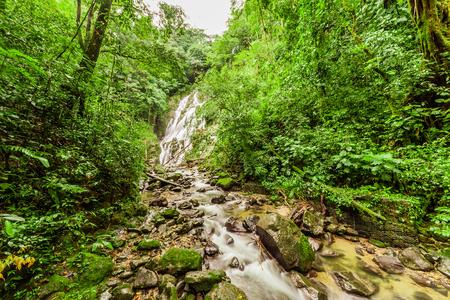 Chorro el Macho, a waterfall in El Valle de Anton, Panama