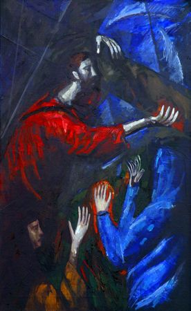 4th Station of the Cross, Jesus meets His Mother