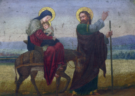 Photo for Flight to Egypt - Royalty Free Image