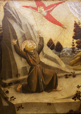 Fra Angelico: The stigmatization of St. Francis of Assisi