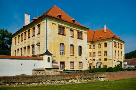 Kunstatt in Moravia castle, south Moravia, Czech Republic