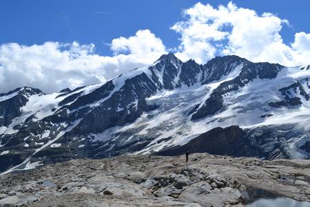 Austrian mountains - Glacier Pasterze - Gross Glockner