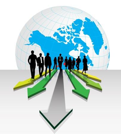 Vektor für Business concept - Lizenzfreies Bild