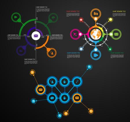 Illustration pour Infographic vector elements for business illustration - image libre de droit