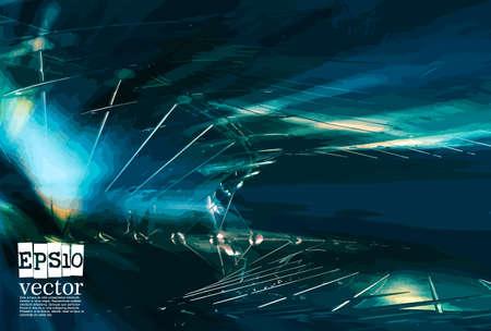 Illustration pour Innovation technology background Hi-tech communication concept, vector illustration - image libre de droit